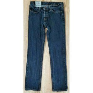 Hollister Mens Slim Straight Button Fly Jeans 32